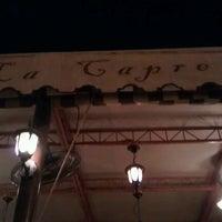 Photo taken at Restorante La Capre by LakanPH on 1/11/2012