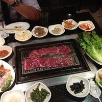 Photo taken at Shilla Korean Barbecue by Kat T. on 8/8/2012