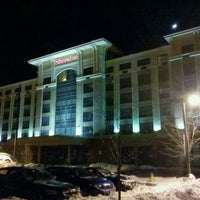 Photo taken at Sheraton Tarrytown Hotel by Sam Bradford on 1/14/2011