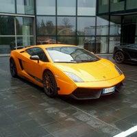 Photo taken at Automobili Lamborghini S.p.A. by Marco V. on 11/4/2011