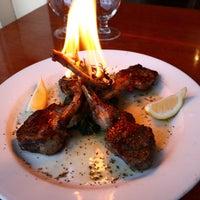 Photo taken at Mezes Kitchen & Wine Bar by Mezes Wine Bar & Greek Kitchen m. on 1/24/2012