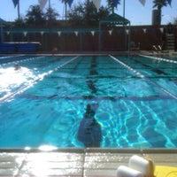 Photo taken at SRC Lap Pool by Dennis G. on 1/5/2012