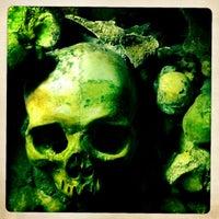 Photo taken at Catacombs of Paris by Jan K. on 2/19/2012