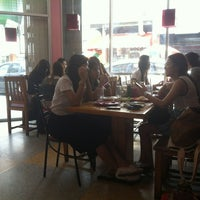 Photo taken at Johnny Food and Drink by immo o. on 4/27/2012