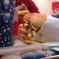 Photo taken at EZ Takeout Burger by Mohamed A. on 12/8/2011