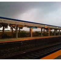 Photo taken at Tri-Rail - Boca Raton Station by Gregg S. on 4/1/2011