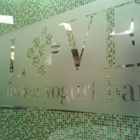 Photo taken at LOVE Frozen Yogurt Bar by E- C. on 2/24/2012