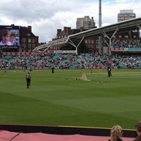 Photo taken at The Kia Oval by Steve C. on 7/1/2012