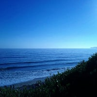 Photo taken at El Capitan State Beach by Luiz S. on 7/14/2012