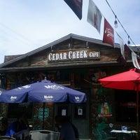 Photo taken at Cedar Creek Café, Bar & Grill by Paul G. on 7/14/2012