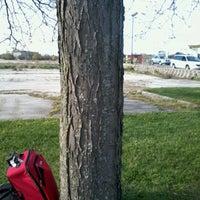 Photo taken at Megabus Stop by Carter S. on 4/13/2012