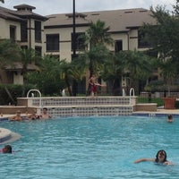 Photo taken at Verandahs Pool by Amanda S. on 5/28/2012