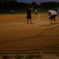 Photo taken at Krieg Field Softball Complex by Christine H. on 8/11/2012