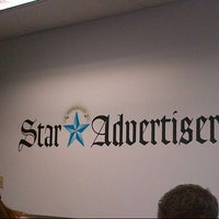 Photo taken at The Honolulu Star-Advertiser by Trey T. on 9/13/2012