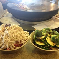 Photo taken at Big Wok Mongolian BBQ by Christina D. on 8/30/2012