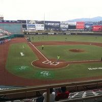Photo taken at Estadio de Beisbol Eduardo Vasconcelos by carlos m. on 3/31/2012