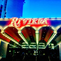 Photo taken at Riviera Hotel & Casino by Logan T. on 5/26/2012