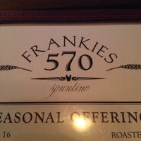 Photo taken at Frankies Spuntino by Corey S. on 4/5/2012