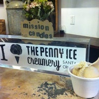 Photo taken at The Penny Ice Creamery by rachel c. on 7/15/2012