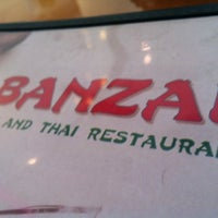Photo taken at Banzai Sushi & Thai by Jonathan D. on 8/4/2012