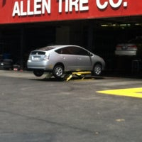 Photo taken at Allen Tire Company by Pilar V. on 5/19/2012