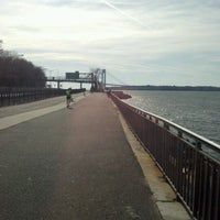 Photo taken at Shore Parkway Greenway by Jason O. on 11/19/2011