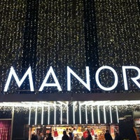 Photo taken at Grands Magasins Manor by Kiran A. on 11/8/2011