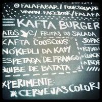 Photo taken at Falafa Bar & Deli by Renan C. on 4/22/2011