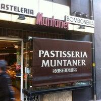 Photo taken at Pastelería Muntaner by Juan B. on 2/21/2012