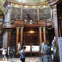Photo taken at Österreichische Nationalbibliothek by Silvia B. on 7/11/2012