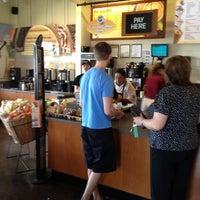 Photo taken at Einstein Bros Bagels by Jared R. on 4/7/2012