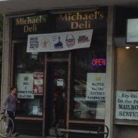 Photo taken at Michael's Deli by Elliot C. on 7/29/2012