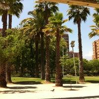 Photo taken at Parque Inés de Suárez by const_kfc on 1/22/2012