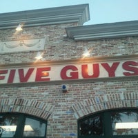 Photo taken at Five Guys by Vaughan on 4/22/2012