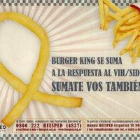 Photo taken at Burger King by Fundación Huésped on 1/25/2012