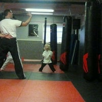 Photo taken at Bill Brown Karate by Jeanne V. on 2/1/2012