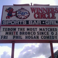 "Photo taken at Winners Circle Sports Bar by ""Diner Dave"" B. on 12/13/2011"