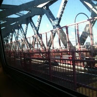 Photo taken at MTA Subway - M Train by Victoria G. on 9/18/2011