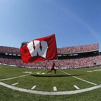 Photo taken at Camp Randall Stadium by UW-Madison on 8/30/2011