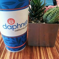 Photo taken at Daphne's California Greek by Tracey W. on 1/2/2012