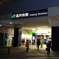 Photo taken at Kōenji Station by Toyota T. on 3/21/2012