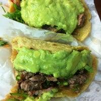 Photo taken at Tacos El Franc by Daniel V. on 9/1/2012