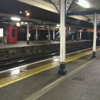 Photo taken at Fratton Railway Station (FTN) by Peter J. on 12/30/2011