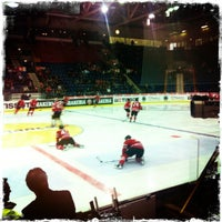 Photo taken at SWISS Arena by Jason L. on 5/1/2012