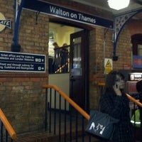 Photo taken at Walton-on-Thames Railway Station (WAL) by Robert D. on 11/21/2011