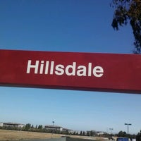 Photo taken at Hillsdale Caltrain Station by Christina E. on 9/9/2012