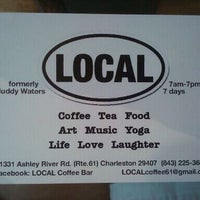 Photo taken at Local Market and Coffee Bar by Eugene M. on 5/14/2011