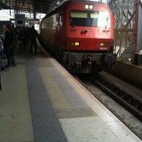 Photo taken at Estação Ferroviária de Entrecampos by João S. on 3/5/2011