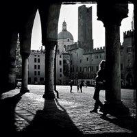 Photo taken at Piazza Sordello by Matteo C. on 4/1/2012