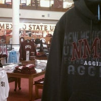 Photo taken at New Mexico State University Main Campus Bookstore by NMSU I. on 10/3/2011